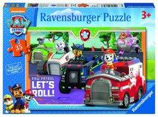 Puzzle Ravensburger Tlapková Patrola 35 dílků
