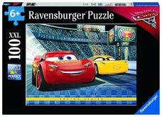 Puzzle Ravensburger Disney Auta 3, 100XXL dílků