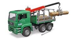 Bruder 2769 Nákladné auto MAN prepravnik dreva
