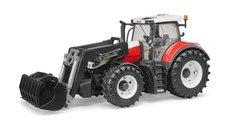 Bruder 3181 Traktor Steyr 6300 Terrus s čelním nakladačem