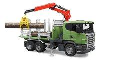Bruder 3524 Nákladné auto Scania na prepravu dreva
