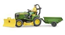 Bruder 62104 Zahradní traktor John Deere s figurkou