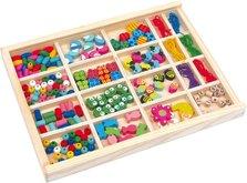 Legler 2465 Navlékací korálky v krabičce sada