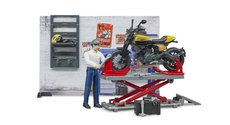 Bruder 62102 Bworld Motocyklový servis Ducati