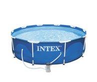 INTEX Metal Frame 3,05 x 0,76 m s kartušovou filtrací