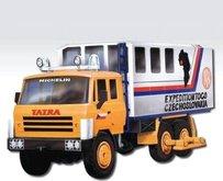 Stavebnice Monti 12 Expedice Tatra 815 v krabici 22x15x6cm 1:48