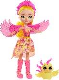 Mattel Enchantimals Panenka a zvířátko Falon Phoenix a Sunrise