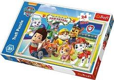 Trefl Puzzle 24 Maxi - Zábavný tým/Viacom PAW Patrol