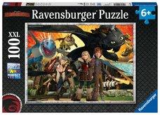 Ravensburger Jak vycvičit draka: Dračí přátelé 100 dílků